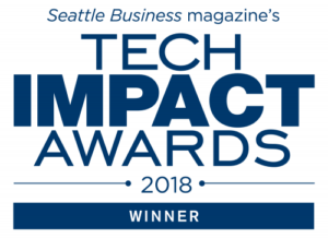 Seattle Business magazine 2018 Tech Impact Award